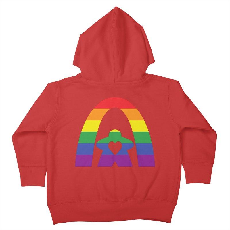 Geekway Pride Kids Toddler Zip-Up Hoody by Geekway's Artist Shop