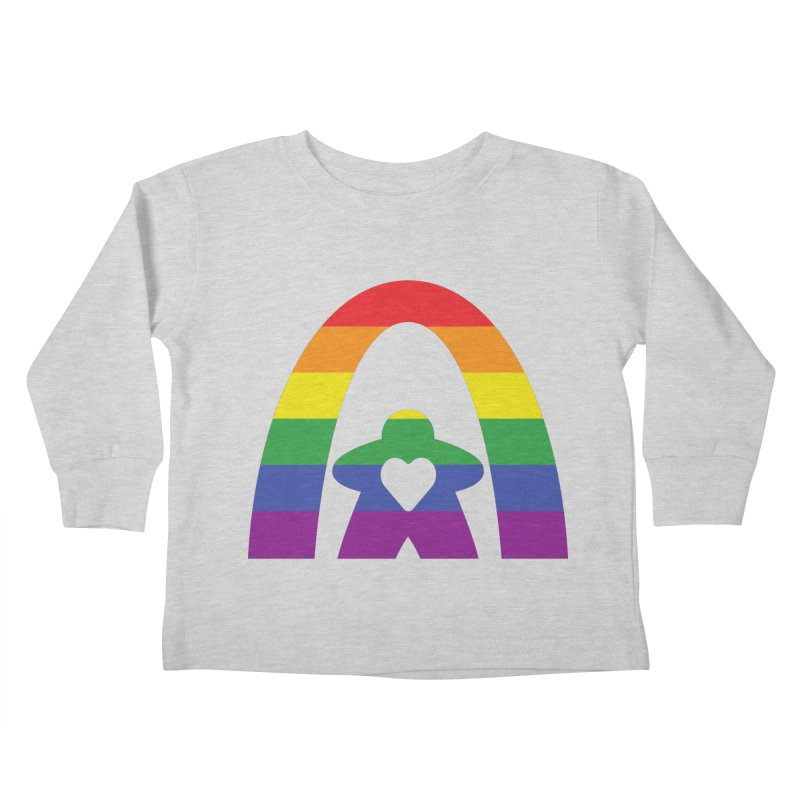 Geekway Pride Kids Toddler Longsleeve T-Shirt by Geekway's Artist Shop