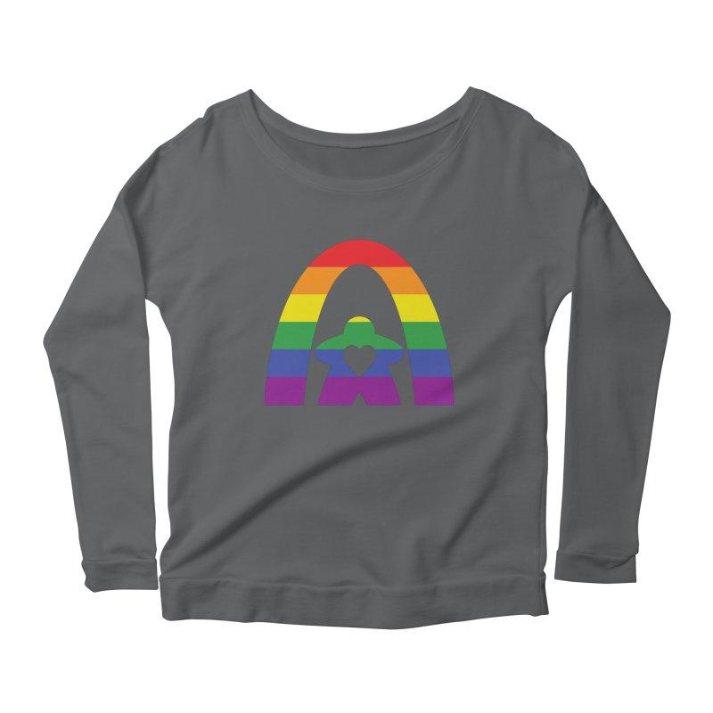 Geekway Pride Women's Scoop Neck Longsleeve T-Shirt by Geekway's Artist Shop