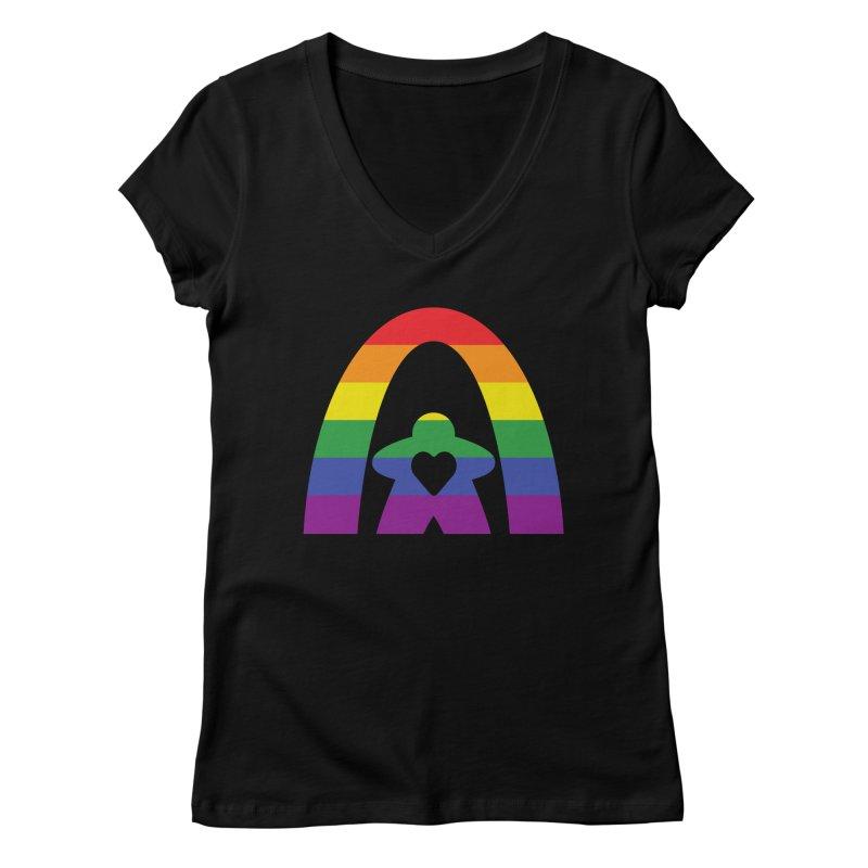 Geekway Pride Women's V-Neck by Geekway's Artist Shop