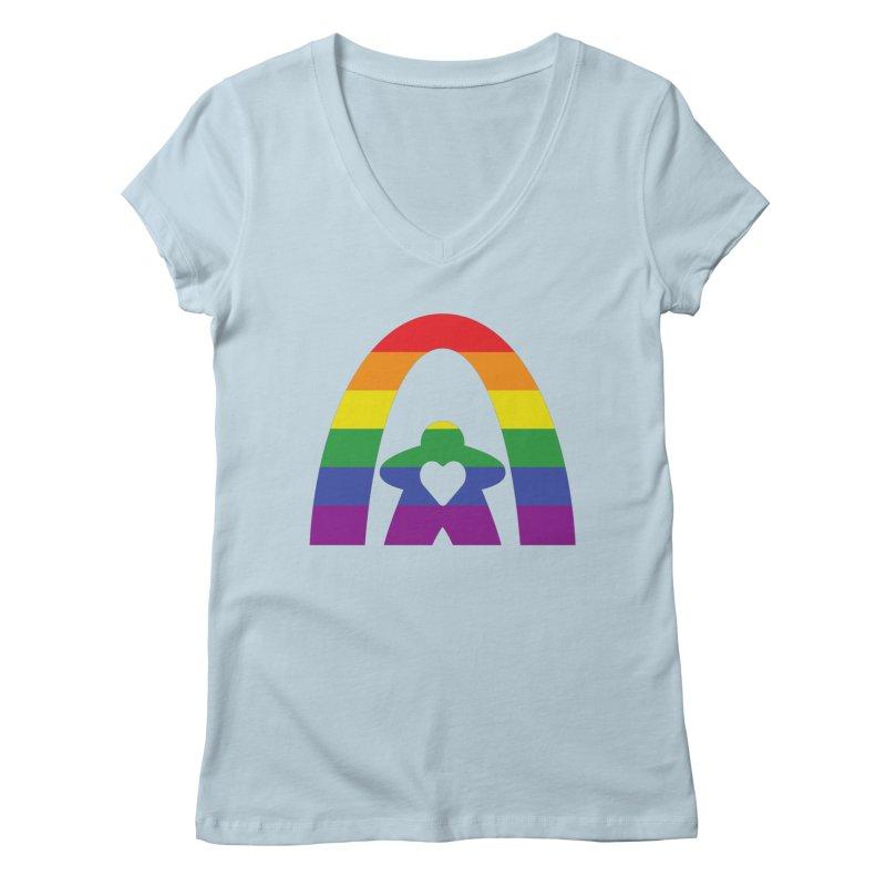 Geekway Pride Women's Regular V-Neck by Geekway's Artist Shop
