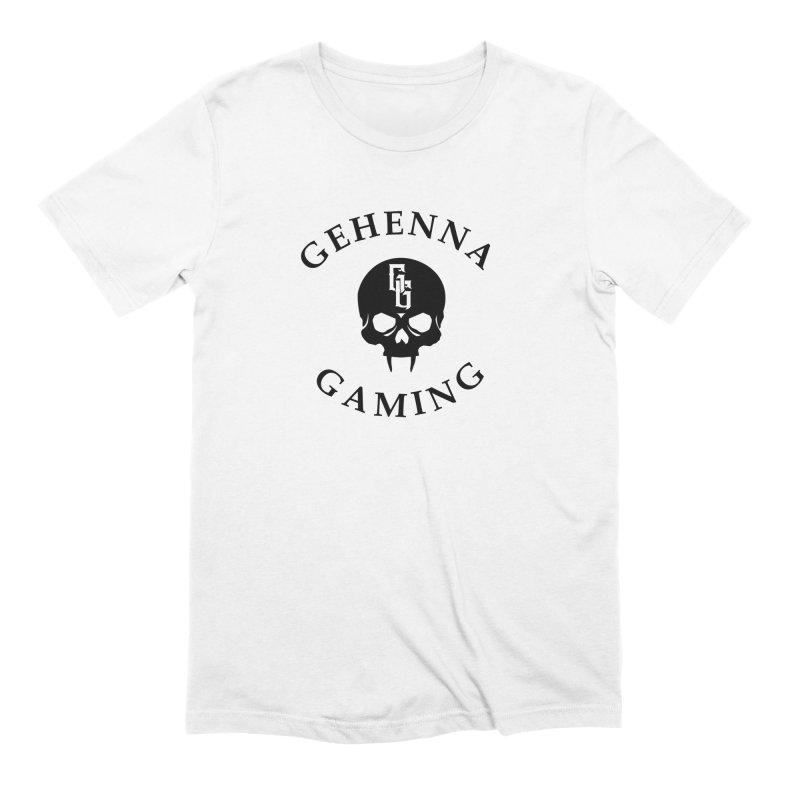 Gehenna Gaming skull logo Men's T-Shirt by GehennaGaming's Artist Shop