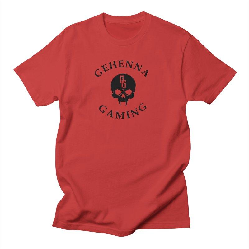 Gehenna Gaming skull logo Men's T-Shirt by The Gehenna Gaming Shop