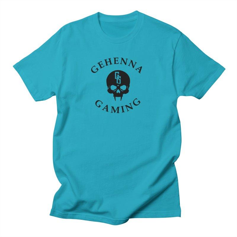 Gehenna Gaming skull logo Men's Regular T-Shirt by GehennaGaming's Artist Shop