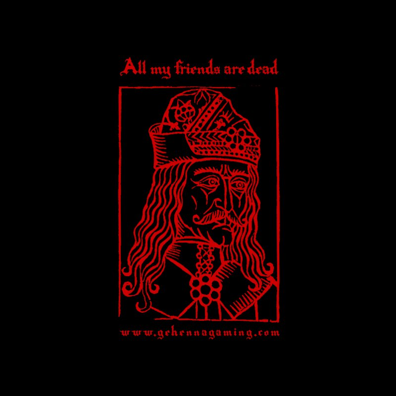 All My Friends Are Dead (Blood Red Edition) Accessories Notebook by The Gehenna Gaming Shop