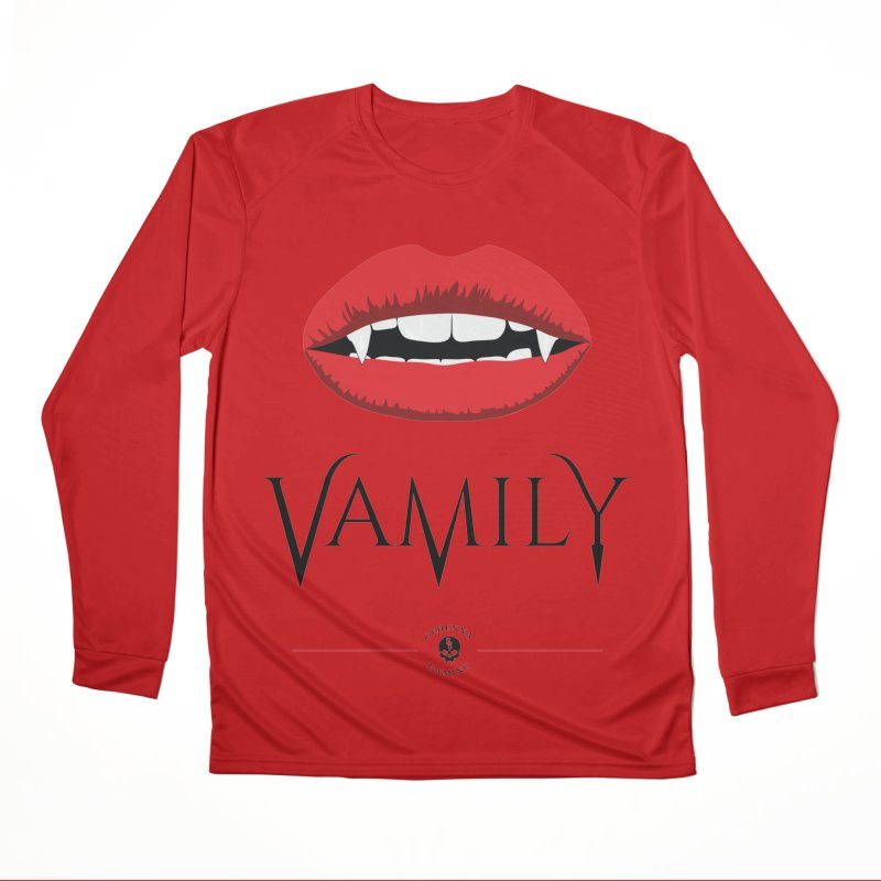 Vamily Men's Performance Longsleeve T-Shirt by GehennaGaming's Artist Shop