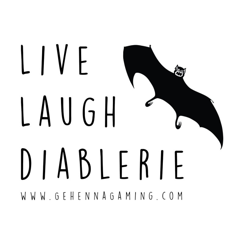 Live, Laugh, Diablerie Men's V-Neck by The Gehenna Gaming Shop