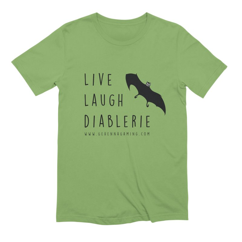 Live, Laugh, Diablerie Men's Extra Soft T-Shirt by The Gehenna Gaming Shop