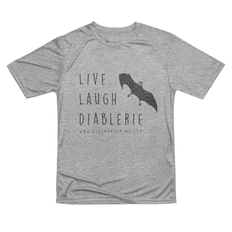 Live, Laugh, Diablerie Men's Performance T-Shirt by GehennaGaming's Artist Shop