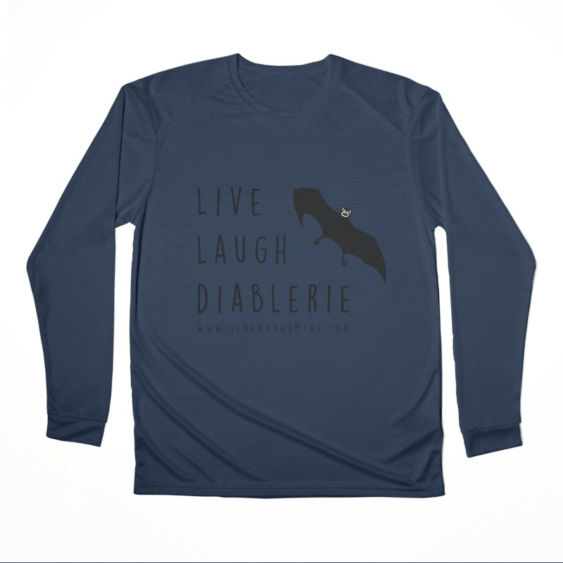 Live, Laugh, Diablerie Men's Performance Longsleeve T-Shirt by GehennaGaming's Artist Shop