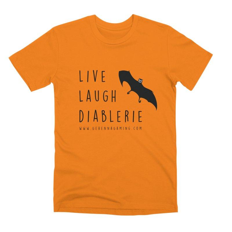 Live, Laugh, Diablerie Men's Premium T-Shirt by GehennaGaming's Artist Shop