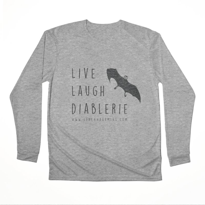 Live, Laugh, Diablerie Women's Performance Unisex Longsleeve T-Shirt by GehennaGaming's Artist Shop