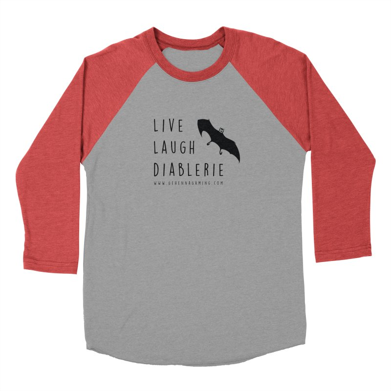 Live, Laugh, Diablerie Men's Longsleeve T-Shirt by The Gehenna Gaming Shop