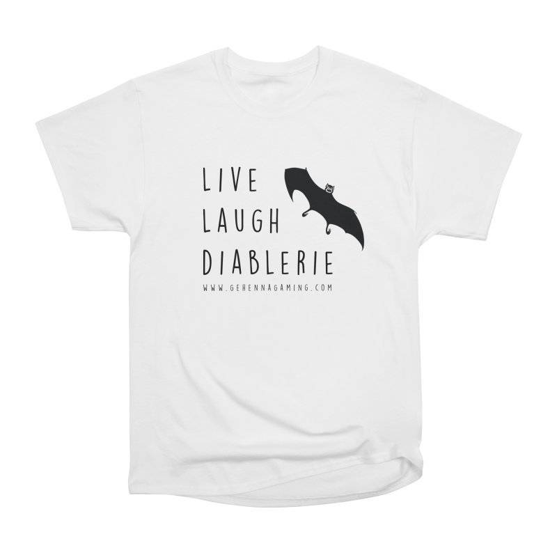 Live, Laugh, Diablerie Men's Heavyweight T-Shirt by The Gehenna Gaming Shop