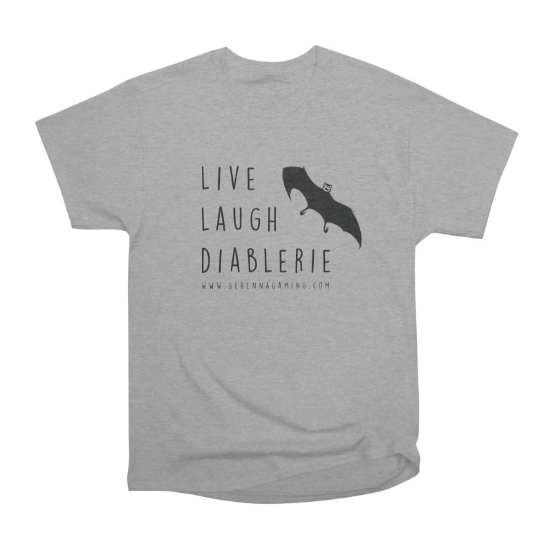 Live, Laugh, Diablerie Men's Heavyweight T-Shirt by GehennaGaming's Artist Shop