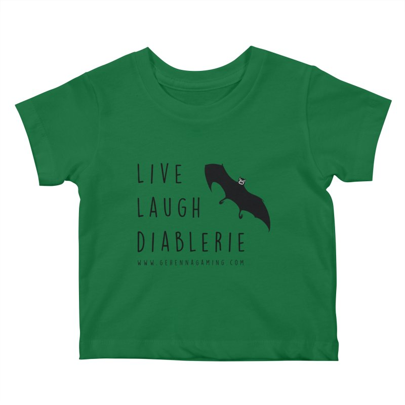 Live, Laugh, Diablerie Kids Baby T-Shirt by GehennaGaming's Artist Shop