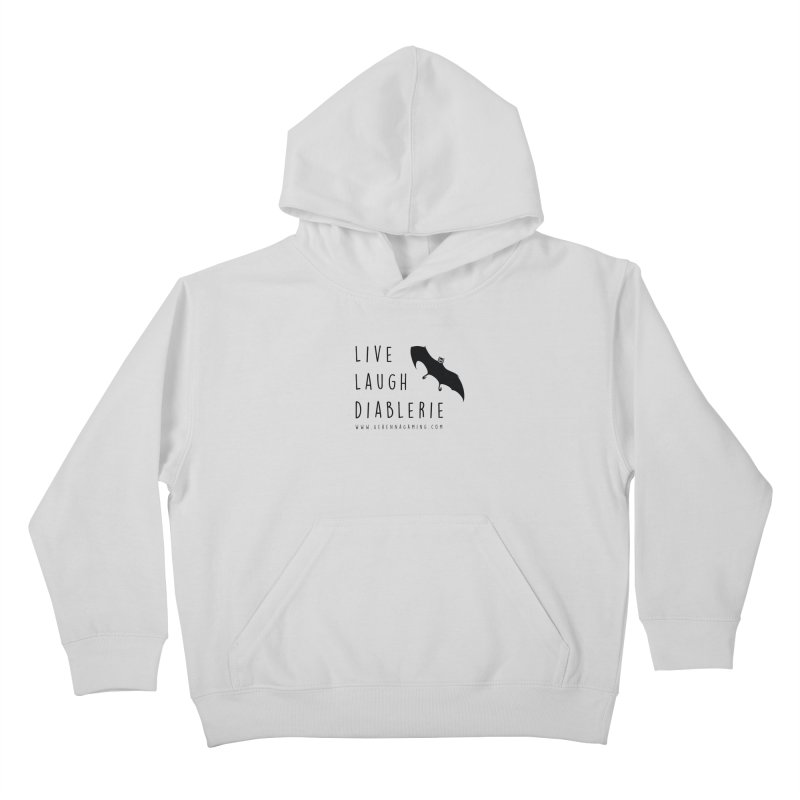 Live, Laugh, Diablerie Kids Pullover Hoody by GehennaGaming's Artist Shop