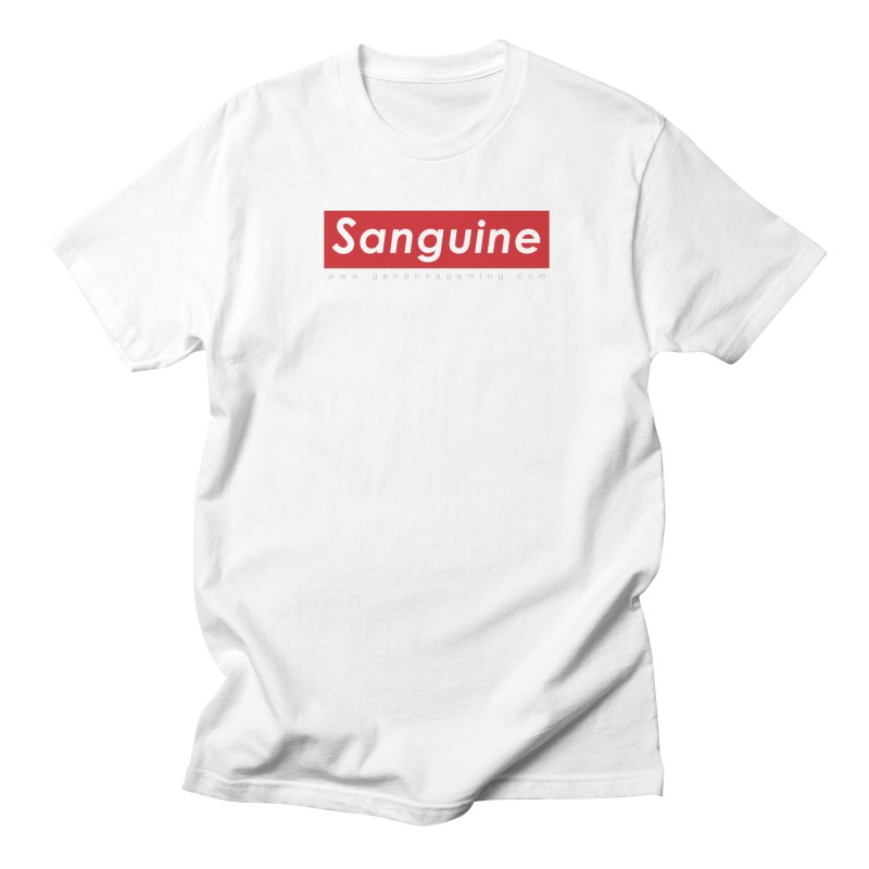 Sanguine: A brand for supreme hipster vamps Men's T-Shirt by The Gehenna Gaming Shop