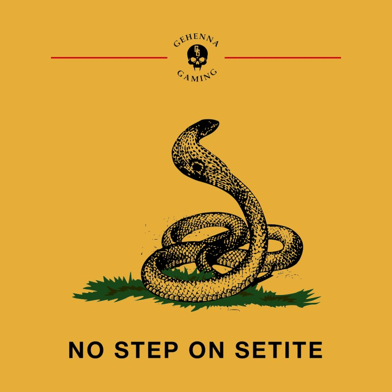 No Step On Setite Men's T-Shirt by The Gehenna Gaming Shop