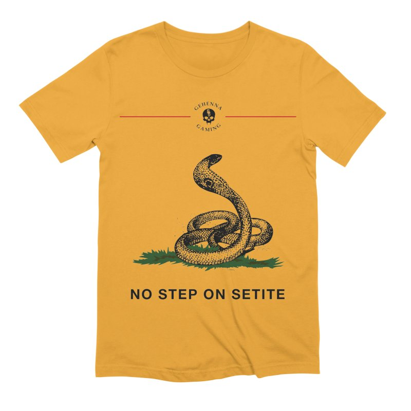 No Step On Setite Men's Extra Soft T-Shirt by GehennaGaming's Artist Shop