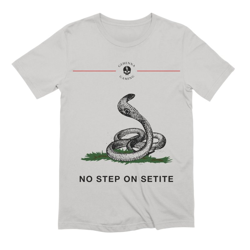 No Step On Setite Men's Extra Soft T-Shirt by The Gehenna Gaming Shop