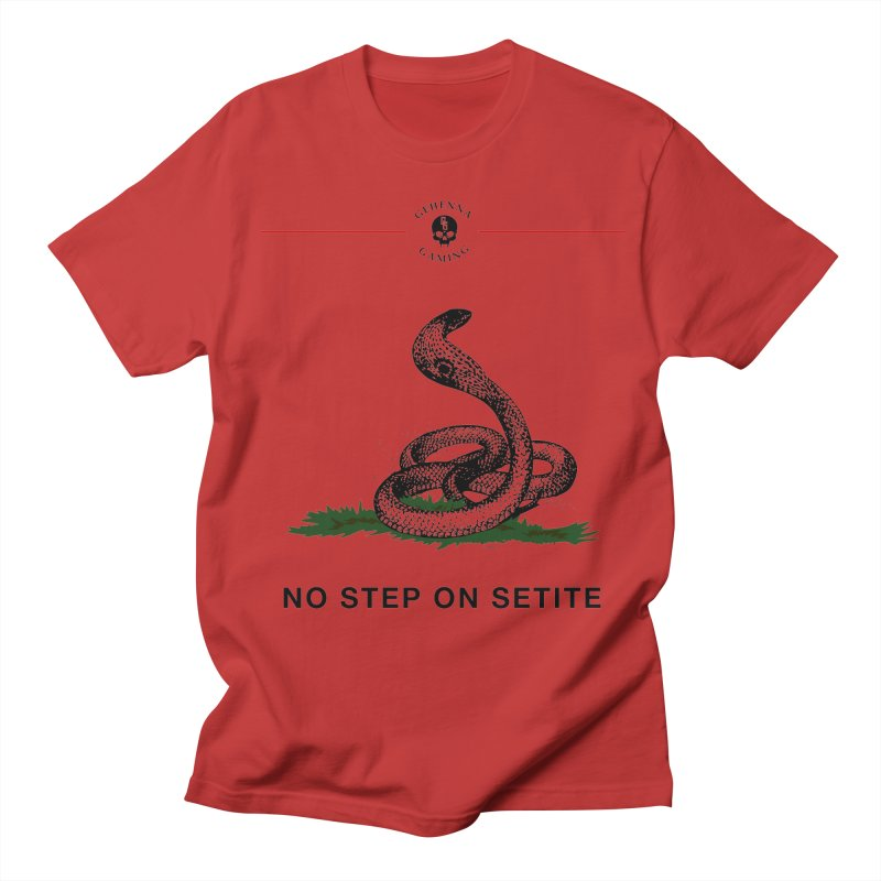 No Step On Setite Men's Regular T-Shirt by The Gehenna Gaming Shop