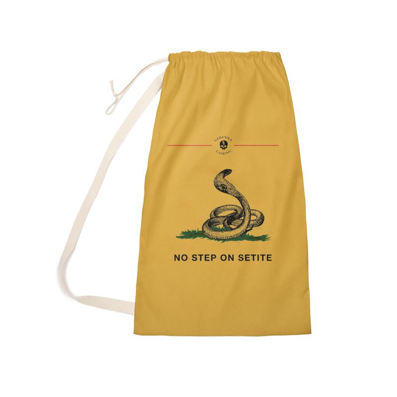 No Step On Setite Accessories Laundry Bag Bag by The Gehenna Gaming Shop