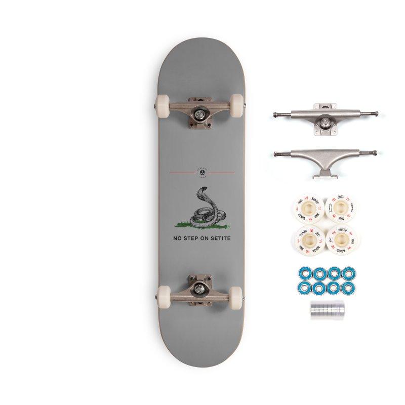 No Step On Setite Accessories Complete - Premium Skateboard by GehennaGaming's Artist Shop