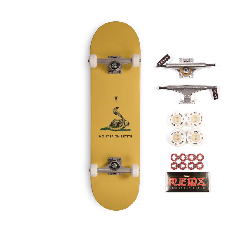 No Step On Setite Accessories Complete - Pro Skateboard by The Gehenna Gaming Shop