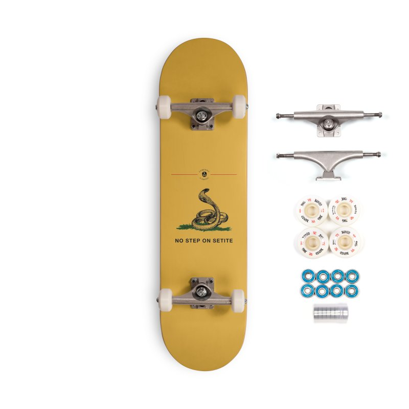No Step On Setite Accessories Complete - Premium Skateboard by The Gehenna Gaming Shop