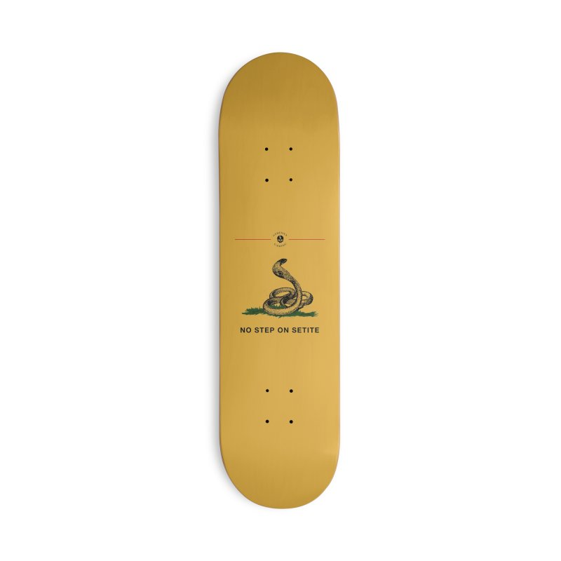 No Step On Setite Accessories Deck Only Skateboard by The Gehenna Gaming Shop