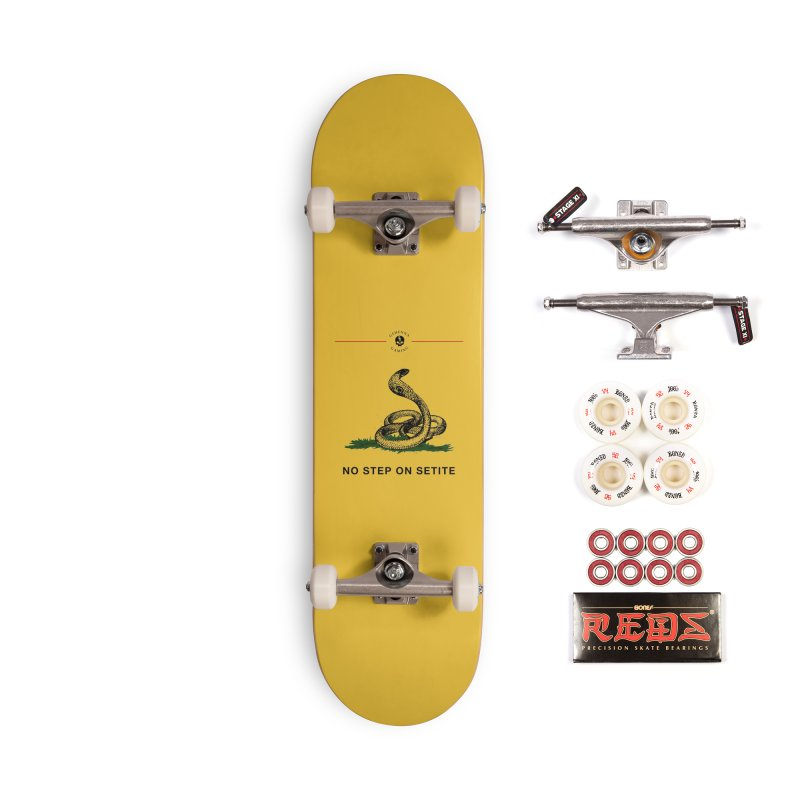 No Step On Setite Accessories Complete - Pro Skateboard by GehennaGaming's Artist Shop