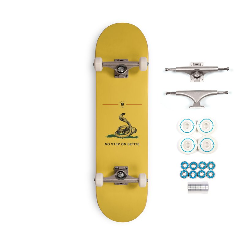 No Step On Setite Accessories Complete - Basic Skateboard by GehennaGaming's Artist Shop