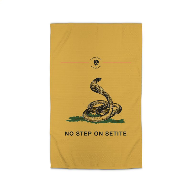 No Step On Setite Home Rug by The Gehenna Gaming Shop