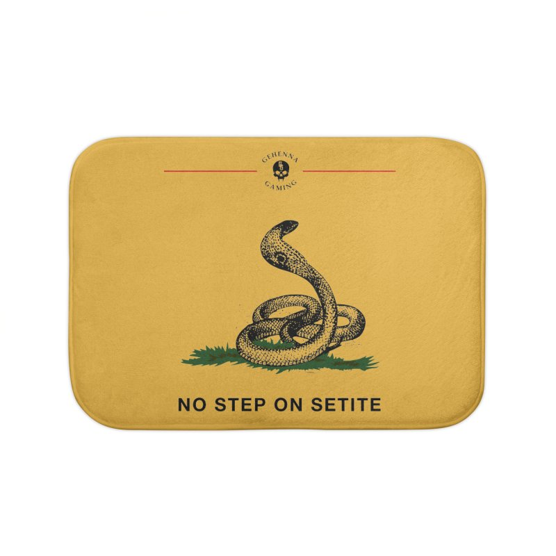 No Step On Setite Home Bath Mat by The Gehenna Gaming Shop