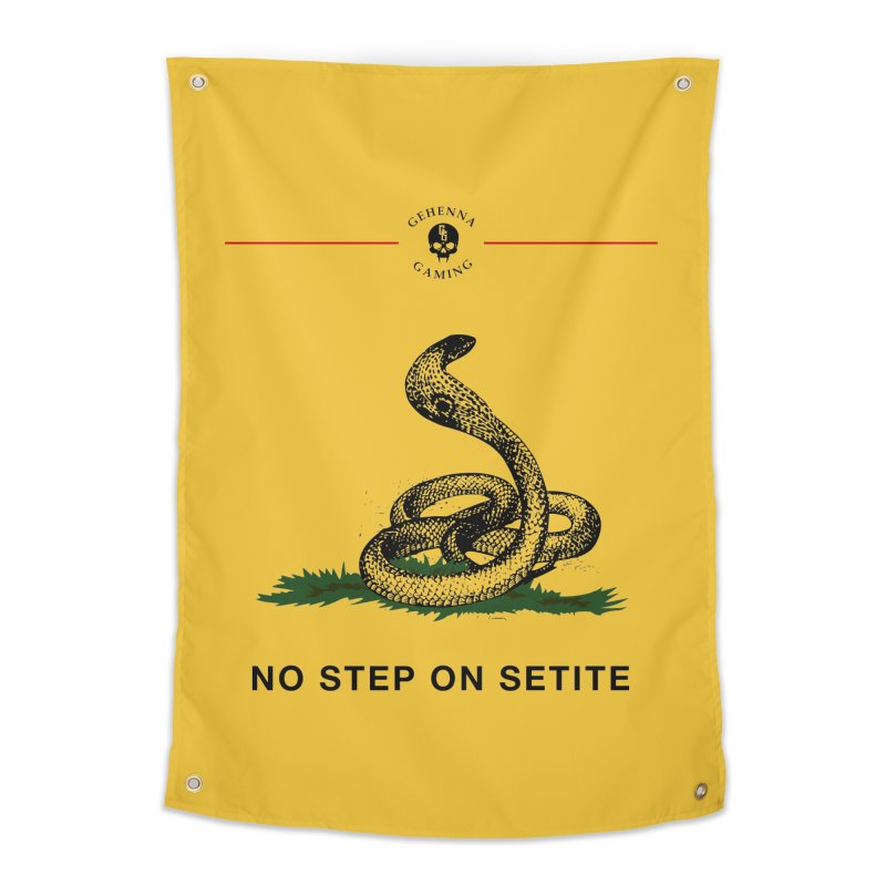 No Step On Setite Home Tapestry by GehennaGaming's Artist Shop