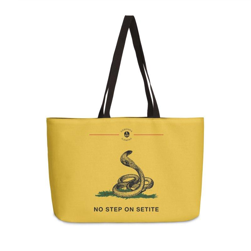 No Step On Setite Accessories Weekender Bag Bag by GehennaGaming's Artist Shop