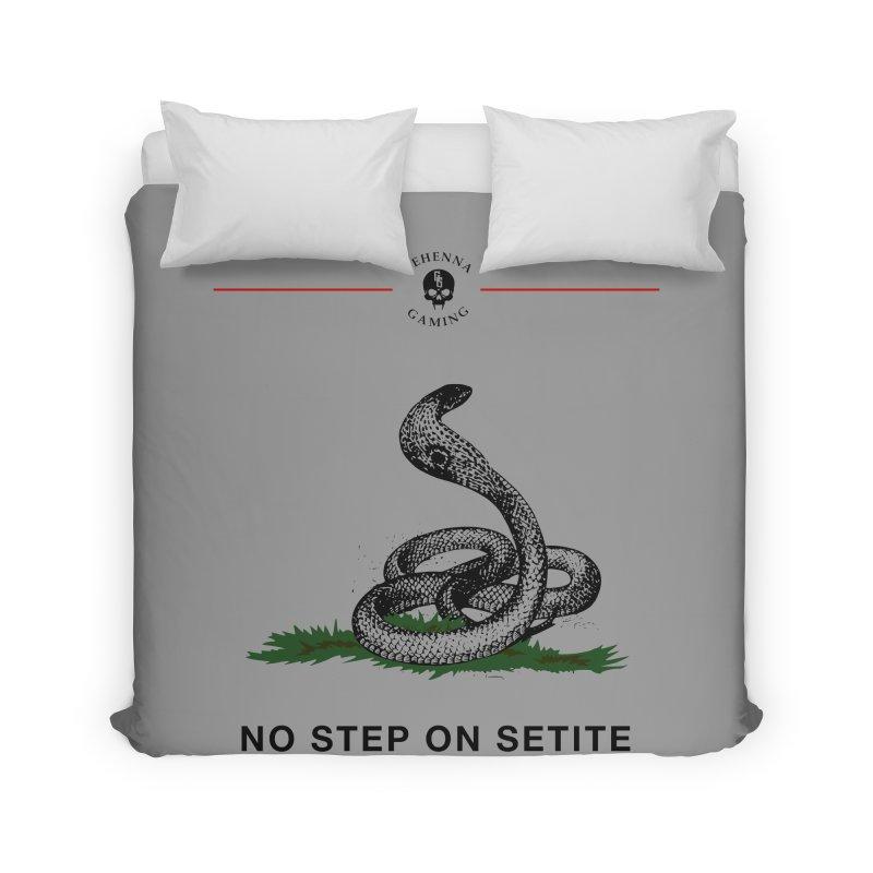 No Step On Setite Home Duvet by GehennaGaming's Artist Shop