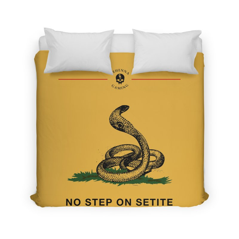 No Step On Setite Home Duvet by The Gehenna Gaming Shop
