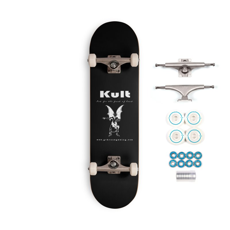 Kult: Not for the weak of heart (Goth Edition) Accessories Complete - Basic Skateboard by The Gehenna Gaming Shop