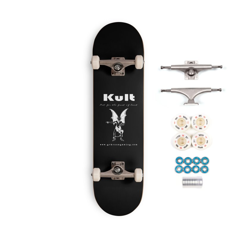 Kult: Not for the weak of heart (Goth Edition) Accessories Complete - Premium Skateboard by The Gehenna Gaming Shop
