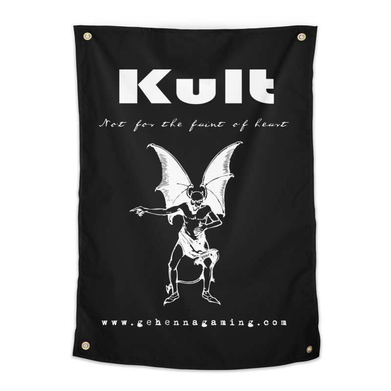 Kult: Not for the weak of heart (Goth Edition) Home Tapestry by The Gehenna Gaming Shop