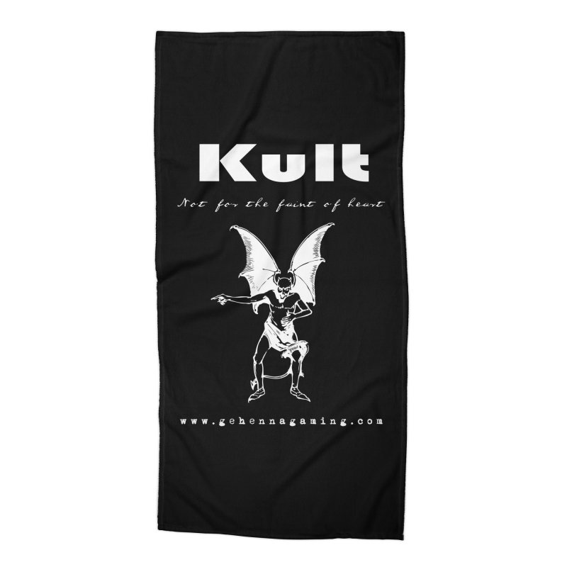 Kult: Not for the weak of heart (Goth Edition) Accessories Beach Towel by The Gehenna Gaming Shop