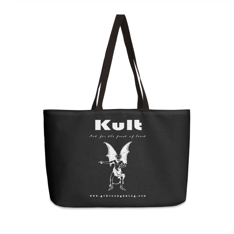Kult: Not for the weak of heart (Goth Edition) Accessories Weekender Bag Bag by The Gehenna Gaming Shop