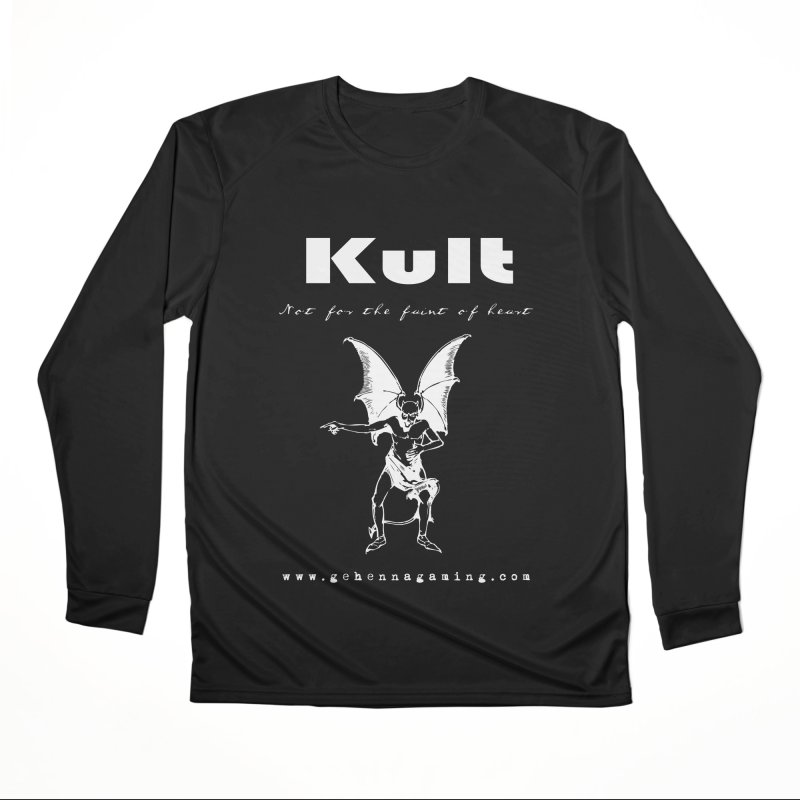 Kult: Not for the weak of heart (Goth Edition) Men's Performance Longsleeve T-Shirt by The Gehenna Gaming Shop