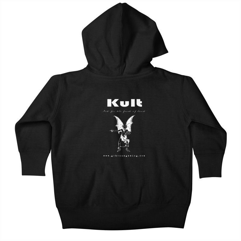 Kult: Not for the weak of heart (Goth Edition) Kids Baby Zip-Up Hoody by The Gehenna Gaming Shop