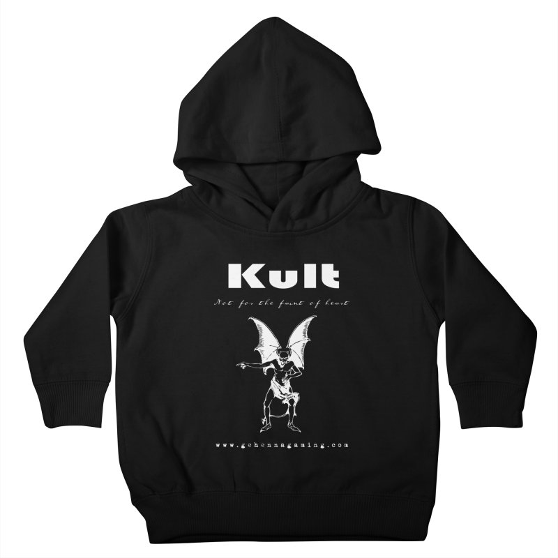 Kult: Not for the weak of heart (Goth Edition) Kids Toddler Pullover Hoody by The Gehenna Gaming Shop