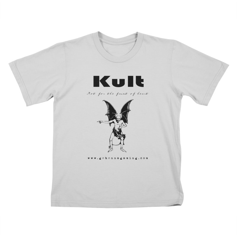 Kult: Not for the faint of heart (Black Edition) Kids T-Shirt by The Gehenna Gaming Shop