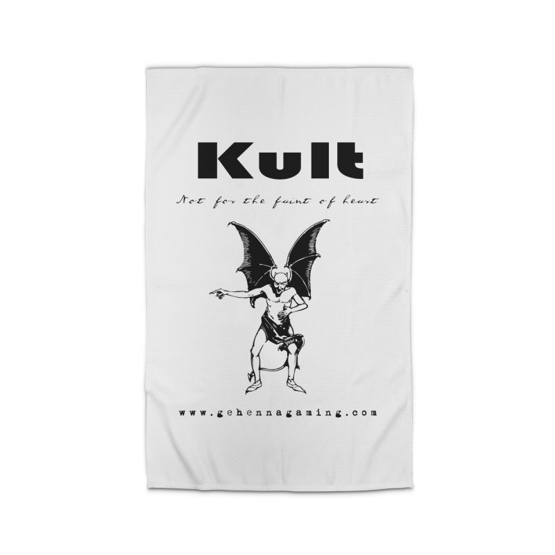 Kult: Not for the faint of heart (Black Edition) Home Rug by The Gehenna Gaming Shop