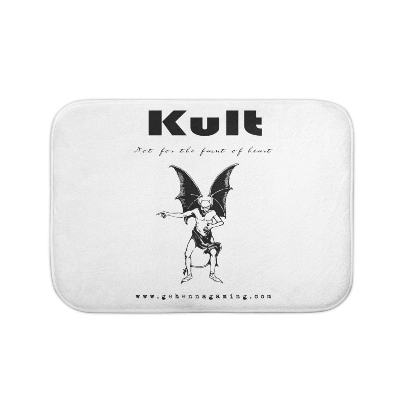 Kult: Not for the faint of heart (Black Edition) Home Bath Mat by The Gehenna Gaming Shop
